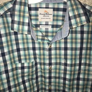 Men' Long Sleeved Button Down Tommy Bahamas M